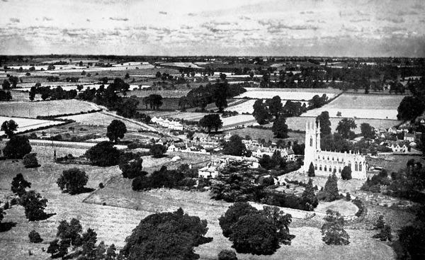 Aerial-village-c1950